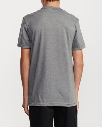 3 Boy's Motors Mix T-Shirt Grey B401VRMM RVCA