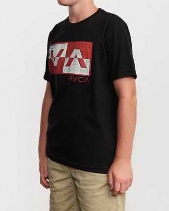 2 Boy's Random Box T-Shirt Black B401VRRB RVCA