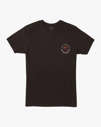 1 Boy's Siam T-Shirt Black B401VRSI RVCA