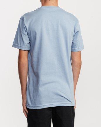 3 Boy's Horton Snarl T-Shirt Blue B401VRSN RVCA