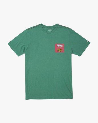 1 BOY'S TAQUERIA T-SHIRT Green B4061RTA RVCA