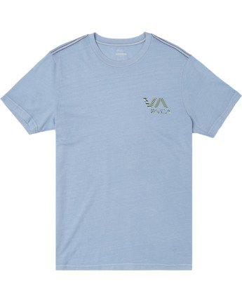 0 Boys MAYDAY SHORT SLEEVE T-SHIRT Blue B4062RMA RVCA
