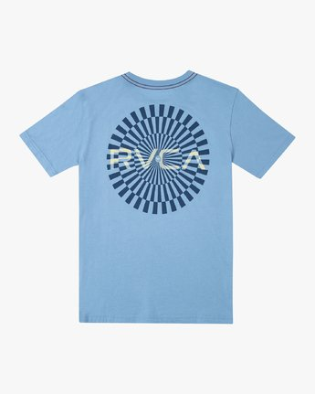 1 BOYS MAYDAY SHORT SLEEVE T-SHIRT Blue B4062RMA RVCA