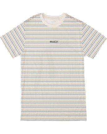 0 Boys RUFF STRIPE SHORT SLEEVE T-SHIRT  B4063RRU RVCA
