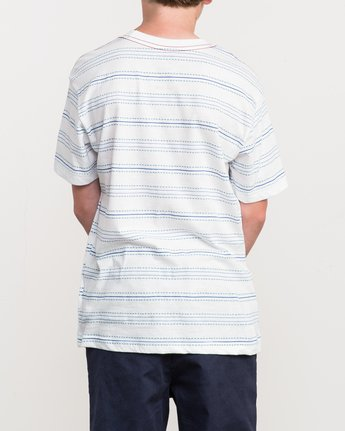 3 Boy's Feeder Stripe T-Shirt  B406QRFE RVCA