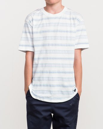 1 Boy's Feeder Stripe T-Shirt  B406QRFE RVCA
