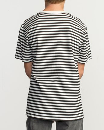 3 Boy's House Stripe T-Shirt  B406TRHO RVCA