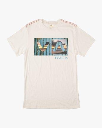0 Boy's Balance T-Shirt White B406URBA RVCA