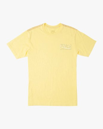 1 Boy's Offset T-Shirt Yellow B406UROF RVCA