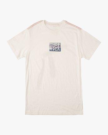 1 Boy's Overlap T-Shirt White B406VROV RVCA