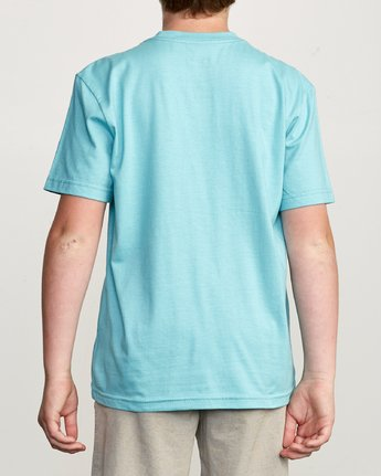 3 Boy's Over Under Pocket T-Shirt Blue B407UROV RVCA