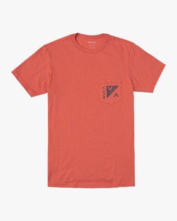 1 Boy's Check Mate T-Shirt  B407VRCH RVCA