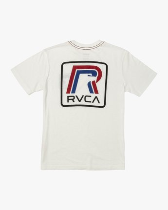 1 BOY'S FREEDOM T-SHIRT White B4091RFR RVCA