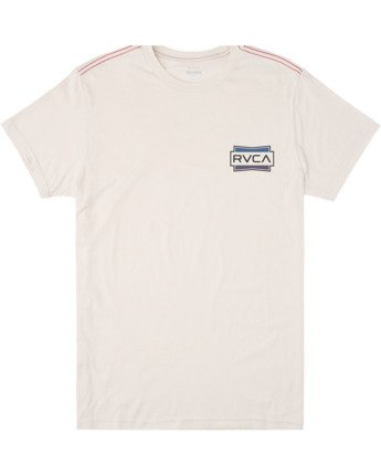 0 Boys DEMO SHORT SLEEVE T-SHIRT White B4092RDE RVCA