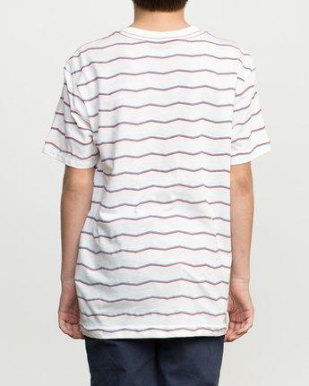 3 Boy's VA Stripe T-Shirt  B409PRVA RVCA