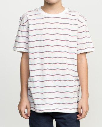 1 Boy's VA Stripe T-Shirt  B409PRVA RVCA