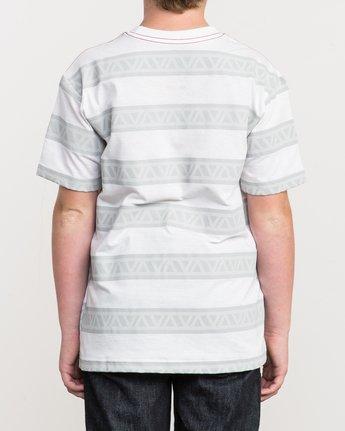 3 Boy's VA Repeater Striped T-Shirt  B409QRVA RVCA