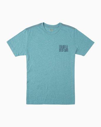 1 Boy's Ripper T-Shirt Blue B409TRRI RVCA