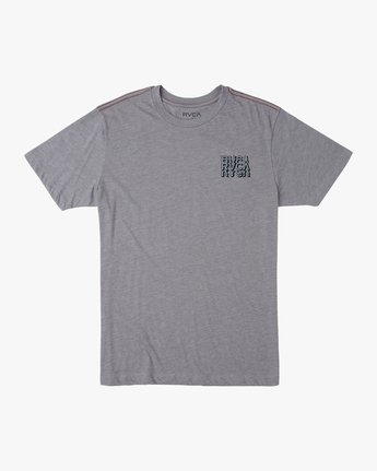 1 Boy's Ripper T-Shirt Grey B409TRRI RVCA