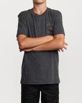 2 Boy's Hortonsphere T-Shirt Black B409VRHO RVCA
