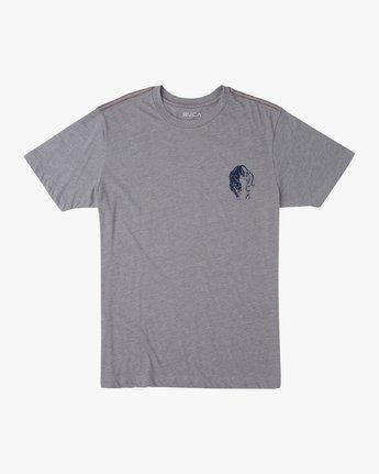 1 Boy's Prowler T-Shirt Grey B409VRPR RVCA