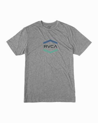 1 Boy's Airborne T-Shirt Grey B409WRAI RVCA