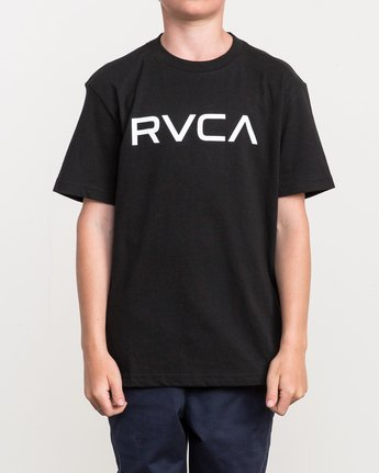 1 Boy's Big RVCA T-Shirt  B410QRBI RVCA