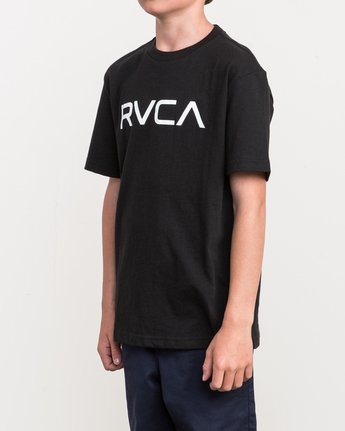 2 Boy's Big RVCA T-Shirt  B410QRBI RVCA