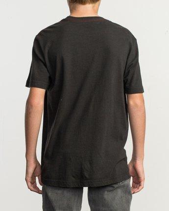 3 Boy's PTC Standard Wash T-Shirt Black B412TRPT RVCA