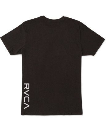 1 Boys VA RVCA SHORT SLEEVE T-SHIRT Black B4163RVA RVCA