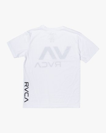 3 BOYS VA RVCA SHORT SLEEVE TEE White B4163RVA RVCA