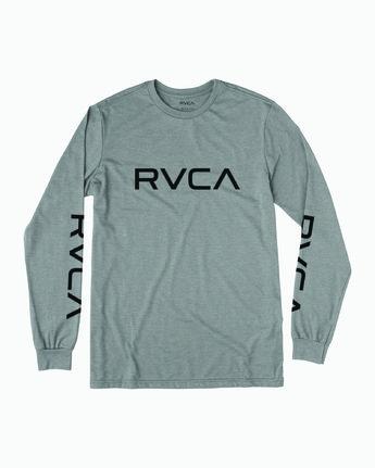 BIG RVCA LS  B451SRBI