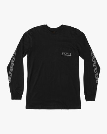 1 Boy's Reflector Long Sleeve T-Shirt  B451SRRE RVCA
