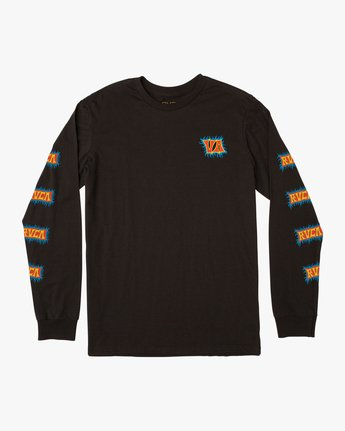 0 Boy's Crawling Long Sleeve T-Shirt  B451TRCR RVCA