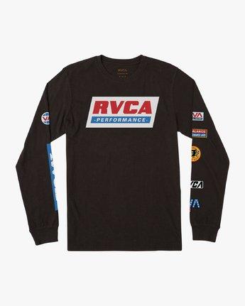 0 Boy's Indianapolis T-Shirt Black B451URIN RVCA