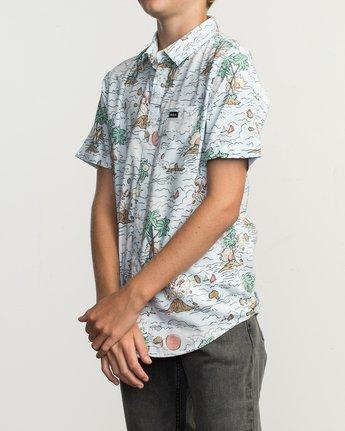 2 Boy's Ceddia Shirt Multicolor B506TRTC RVCA
