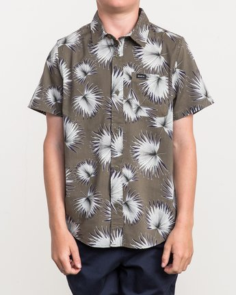 0 Boy's Palms Printed Shirt  B509QRPA RVCA