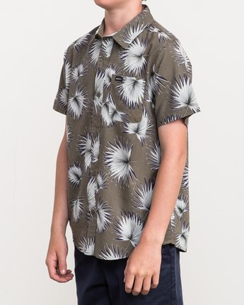 1 Boy's Palms Printed Shirt  B509QRPA RVCA