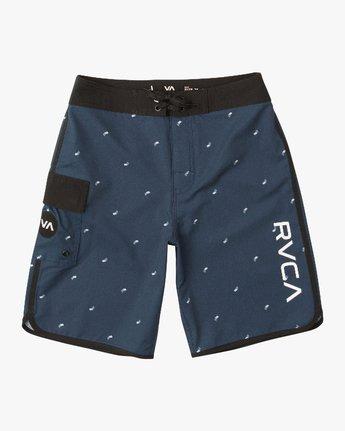 0 Boy's Eastern Boardshorts Blue B5104EAS RVCA
