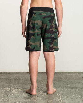 4 Boy's Eastern Boardshorts Brown B5104EAS RVCA