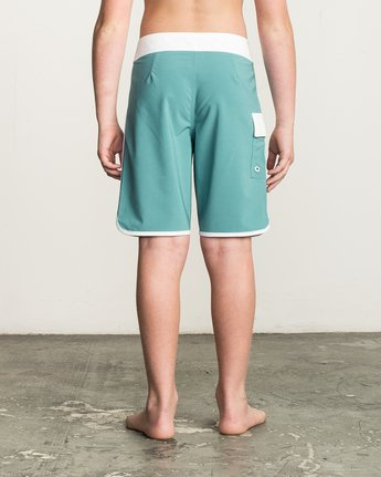 3 Boy's Eastern Boardshorts Blue B5104EAS RVCA