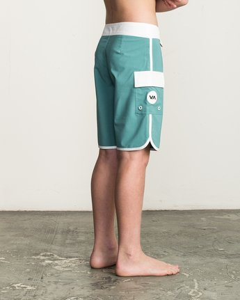 4 Boy's Eastern Boardshorts Blue B5104EAS RVCA