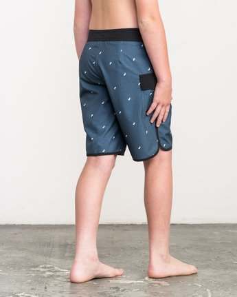 5 Boy's Eastern Boardshorts Blue B5104EAS RVCA