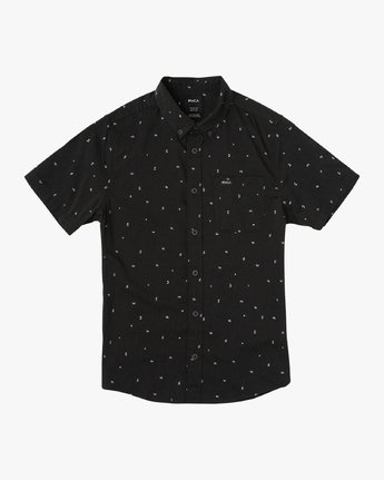 0 Boy's VA Little Buds Shirt Black B514VRVL RVCA