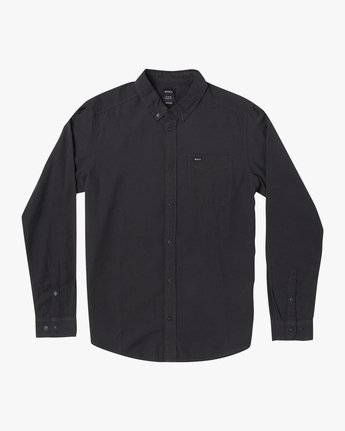 1 BOYS THATLL DO STRETCH LONG SLEEVE SHIRT Black B526VRTL RVCA