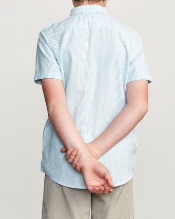 3 Boy's That'll Do Hi Grade II Shirt Blue B552URTH RVCA