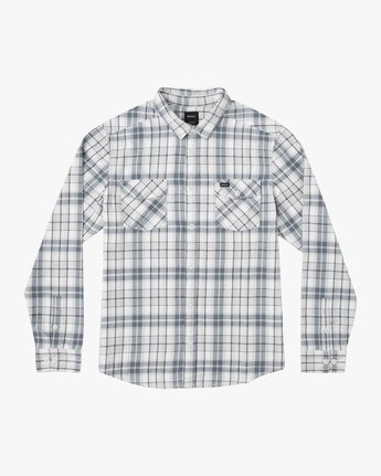 0 Boy's Watt Flannel Shirt Multicolor B553TRWF RVCA