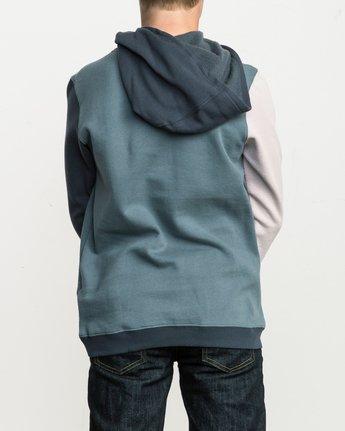 3 Boy's Ruddy Hoodie Blue B603QRRD RVCA