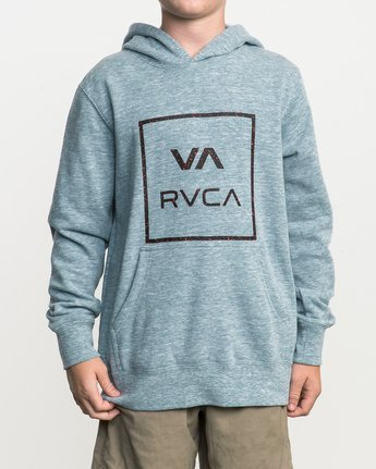 1 Boy's Fill All The Way Hoodie  B606SRPB RVCA