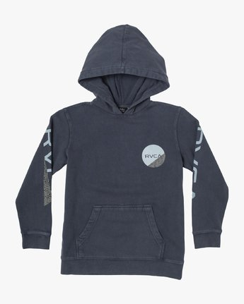 1 BOYS FRACTION HOODIE Blue B6093RFR RVCA